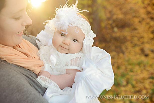 Tallie Christening Dress & Headband | One Small Child