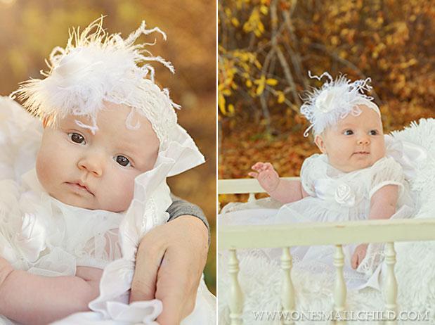 Tallie Christening Dress & Headband   One Small Child