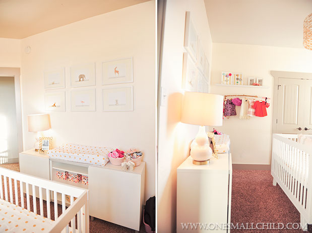 Nellies Adorable Baby Girl Nursery | One Small Child