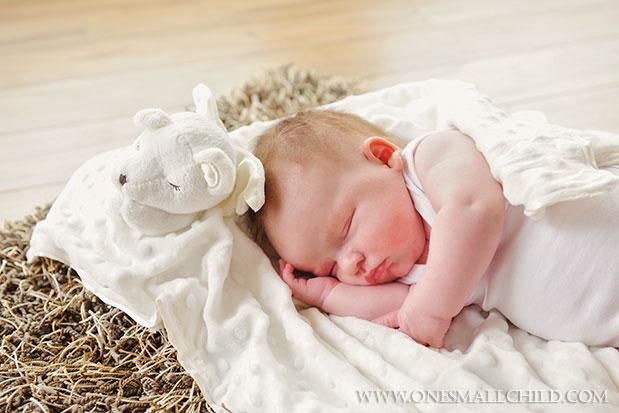 Prayer Bear Cuddle Blankie | Stuffed Animal Blankets for Babies