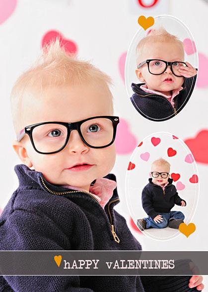 Cute photo valentines ideas by Paisley Studios www.onesmallchild.com
