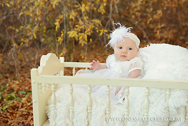Fall Christening Portrait Ideas