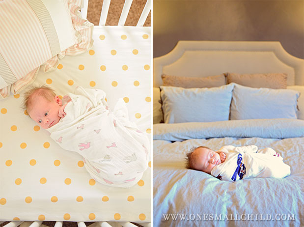 A great post on correct newborn swaddling with a link to a video by a pediatrician.