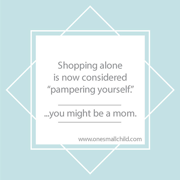 Shopping with Kids | Parenting Humor from One Small Child
