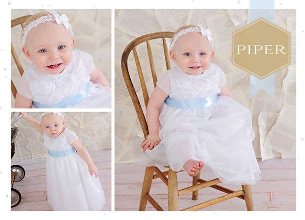 Piper Summer Christening Dress