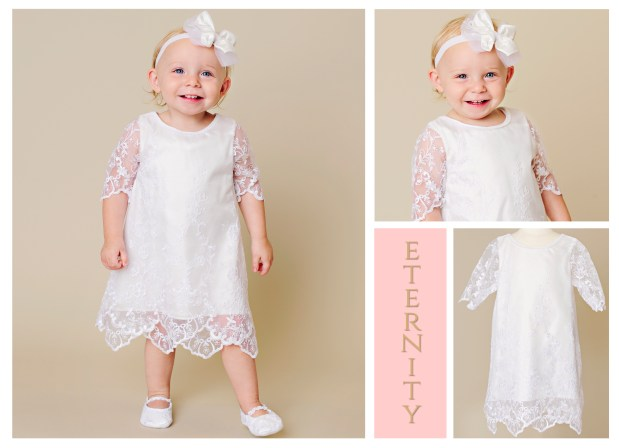 Eternity | LDS Blessing Dress