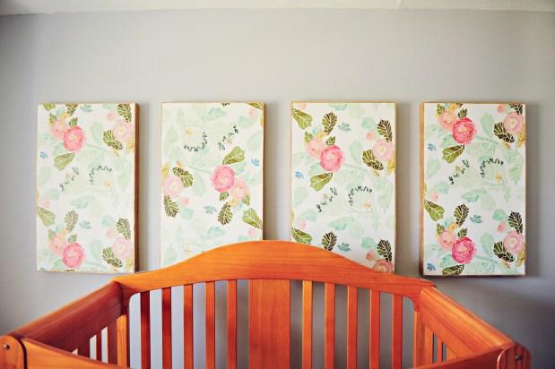 Maelee's Floral Print Nursery