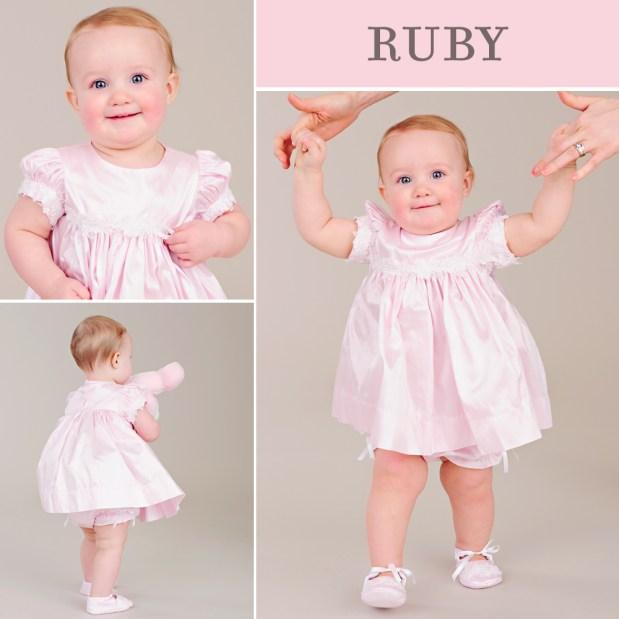Ruby First Birthday Dress
