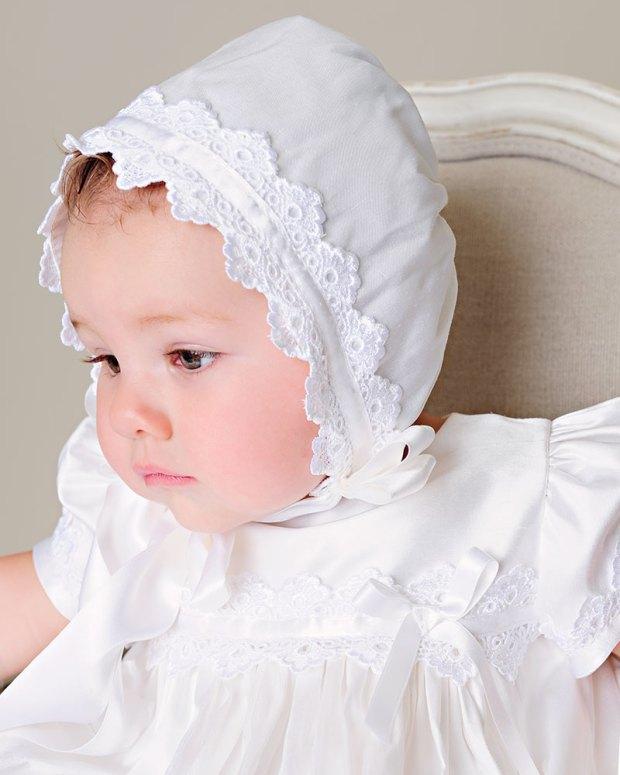 Mariana Christening Silk Gown