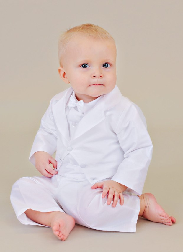 Ryker Baby Blessing Suit