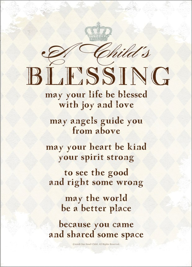 A Childs Blessing