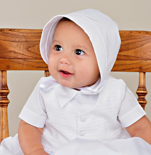 Stefan Christening Boy gown