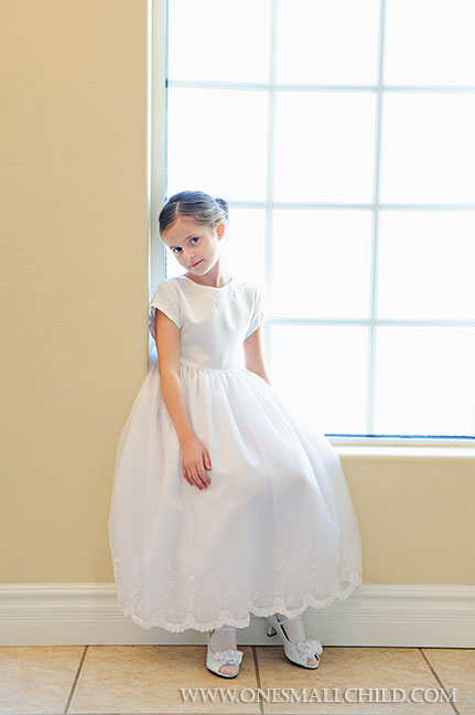 Miss Evangeline First Communion Dresses | One Small Child
