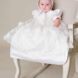 Chloe Christening Gown