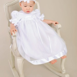 Clarice Christening Gown