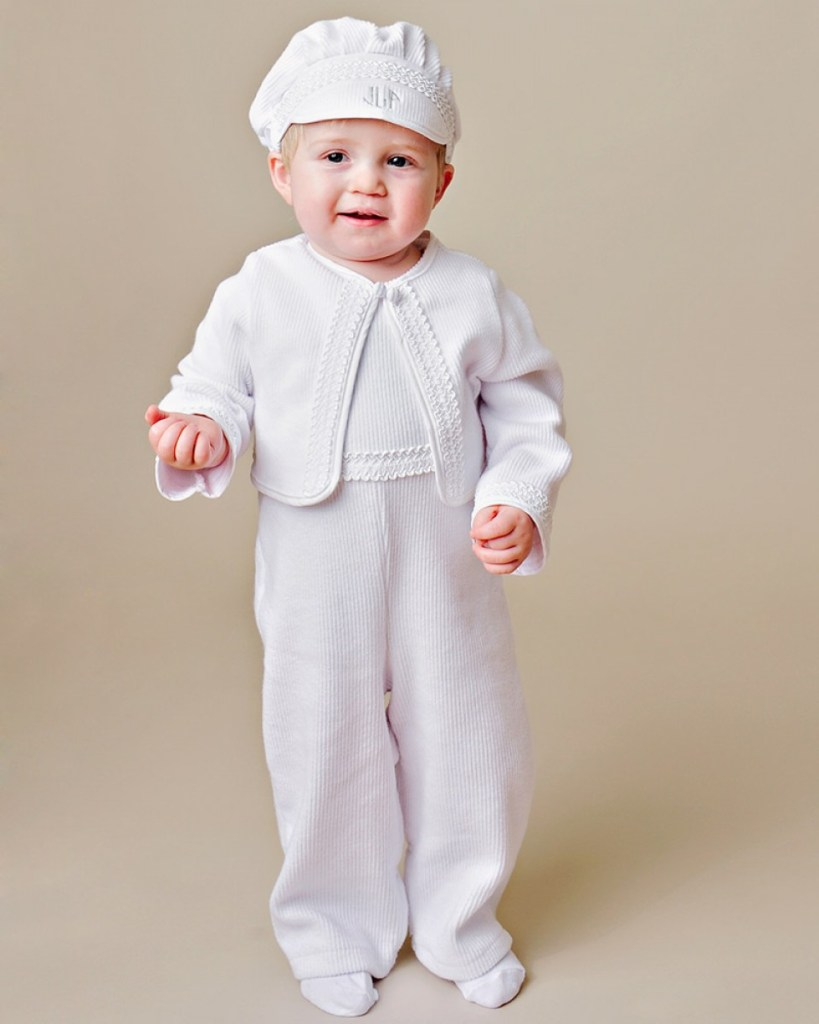 Lucas Christening Outfit