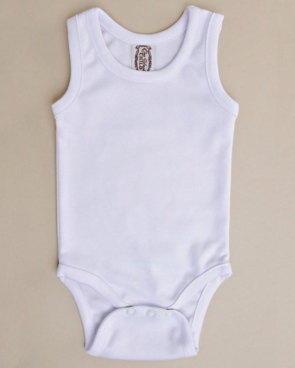 Pima Sleeveless Bodysuit