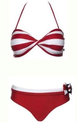 La vie En rose stripped bikini