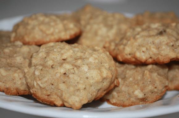 Oatmeal Banana Bread Cookies