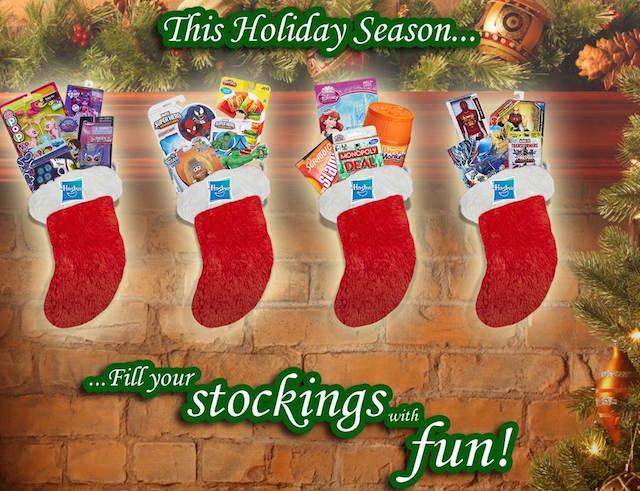 hasbro stocking