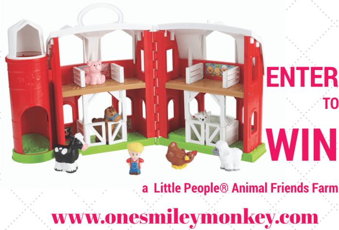 fisher price farm giveaway