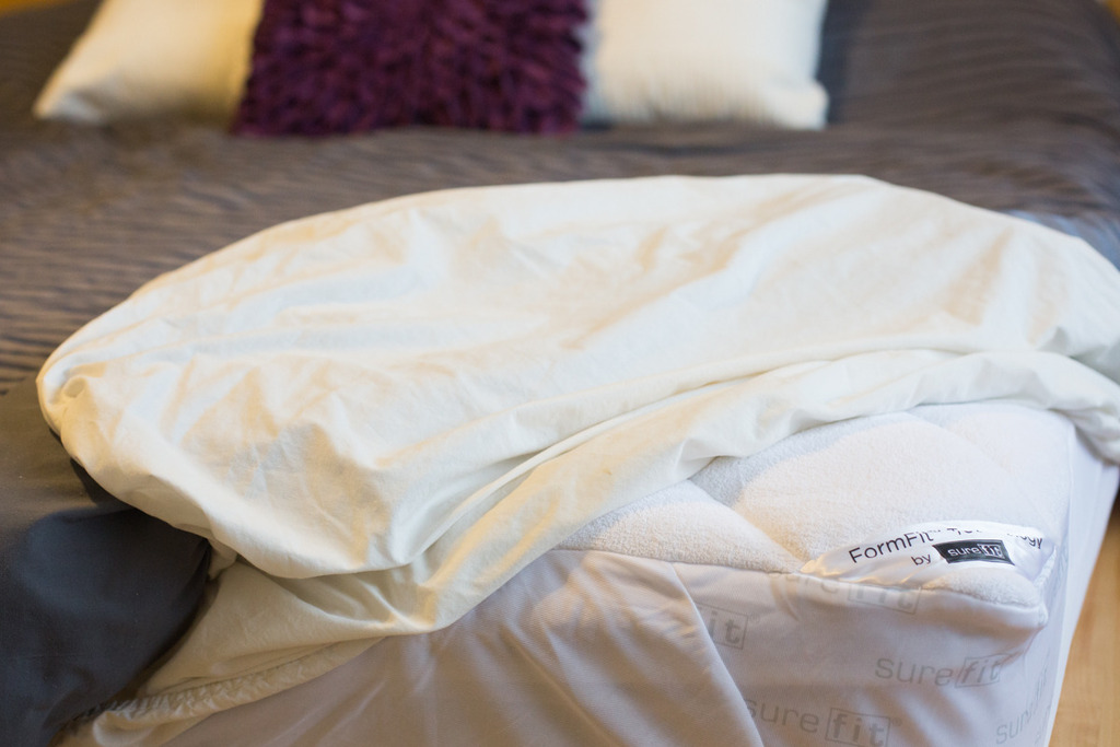 Sure Fit Mattress Pad Review Giveaway