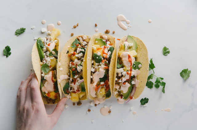 Spicy Lentil Tacos Recipe {Giveaway}
