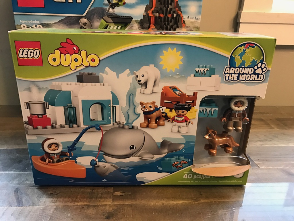 LEGO Volcano Exploration Base and LEGO DUPLO Arctic Set {Review}
