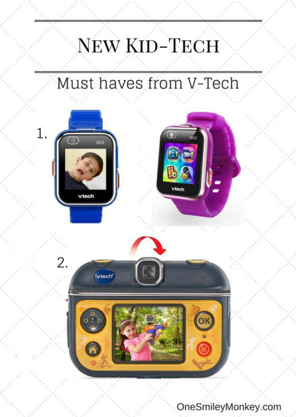 NEW Must Have Kid-Tech Gadgets from VTech