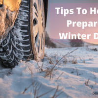 Tips to help you prepare for winter driving