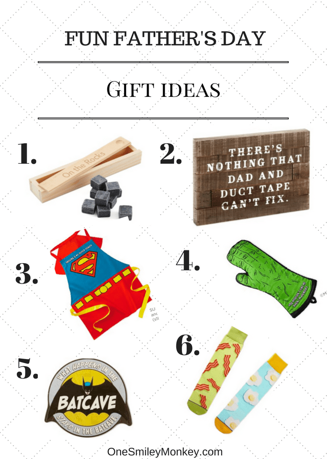 Fun Last Minute Father's Day Gift Ideas {Giveaway}