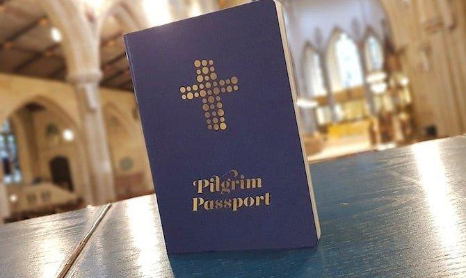 Pilgrims Passport and Stamps along England's Pilgrims Way