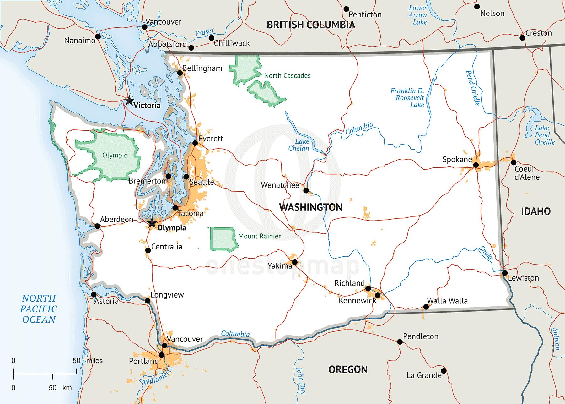 Catalog Digital U S State Maps