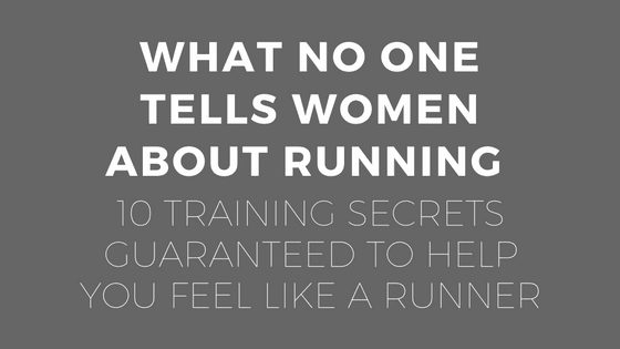 What No One Tells Women About Running