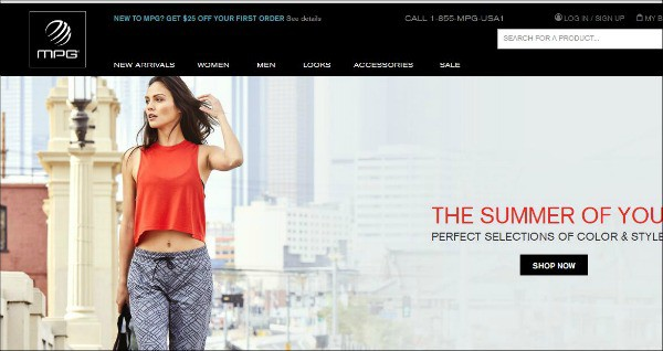 MPG Sport is one of the top gym apparel sites for women to shop