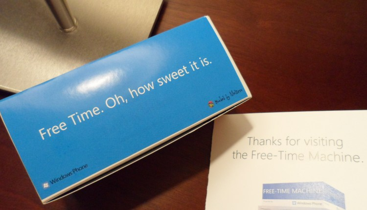 Free Time boxed sweets