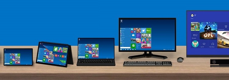 Windows 10 Product Family Featured