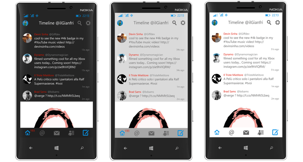 Project Blue Dog: A Twitter Client for Windows Phone worth ...