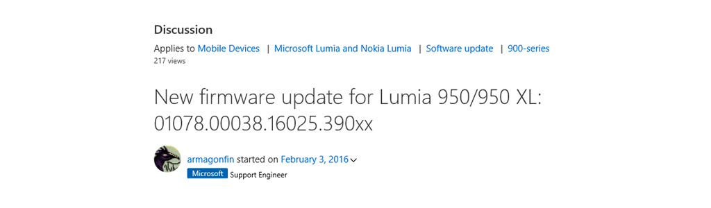 Microsoft is rolling out new Firmware for the Microsoft