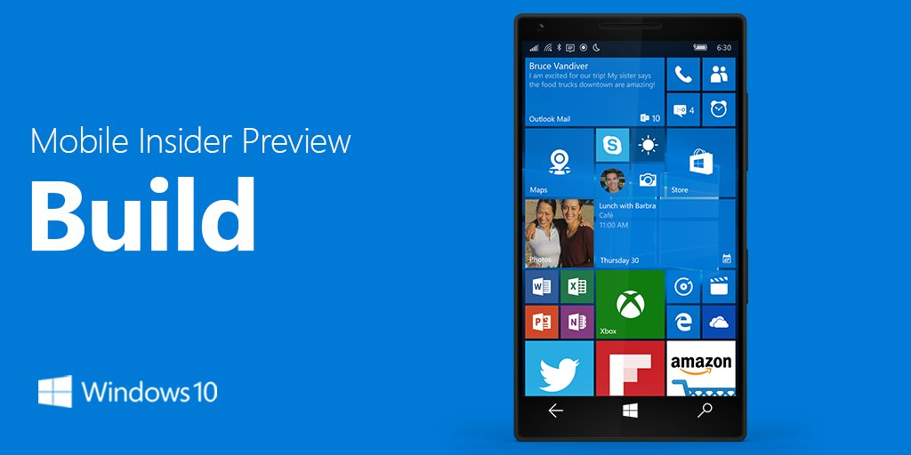 windows 10 mobile insider preview latest build