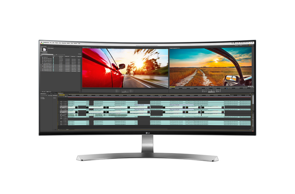 LG Announces 34-inch Ultrawide 5K Monitor with Thunderbolt 3