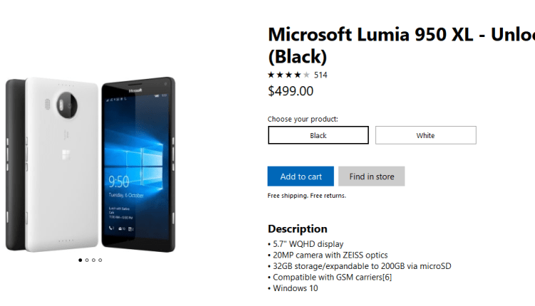 Screenshot-2018-2-25 Buy Microsoft Lumia 950 XL – Unlocked – Microsoft Store