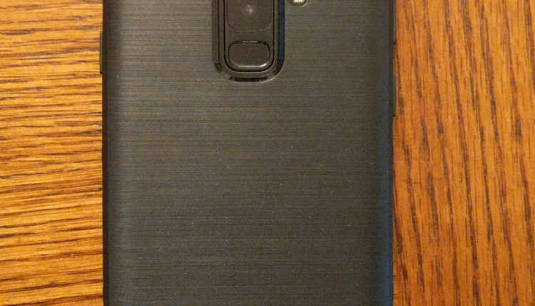Sentinel Case Back on Galaxy S9+