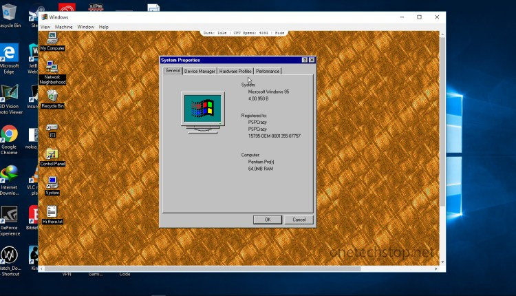 Windows95-Windows10