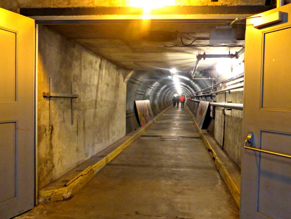 Diefenbunker Blast Tunnel