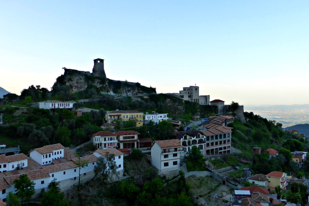 Kruja at Sunrise