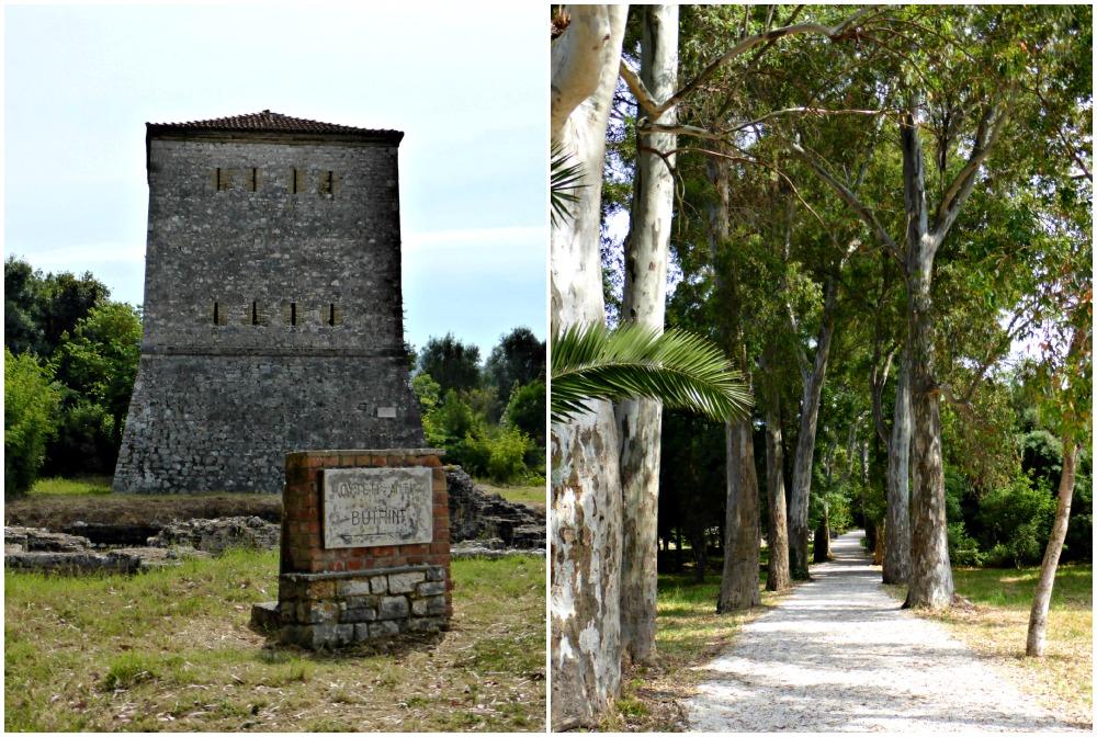 Entrance to Butrint National Park, Albania