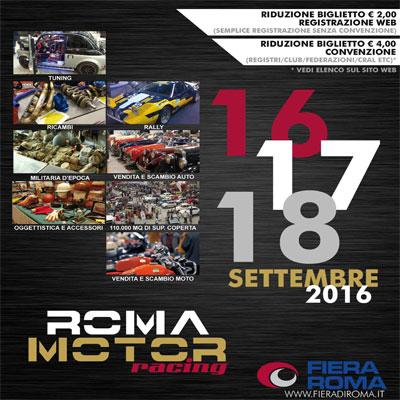ROMA MOTOR RACING – GARA 3X
