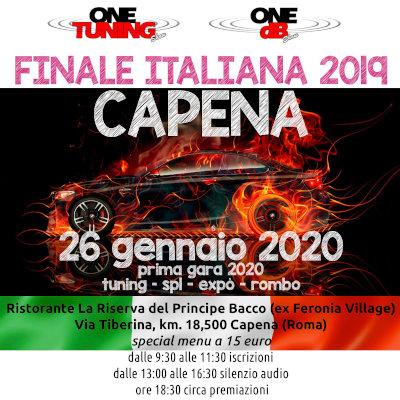 CAPENA FINALE ITALIANA 26 GENNAIO 2019