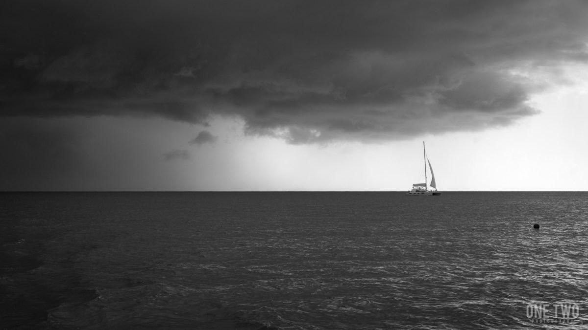 barbados ocean storm